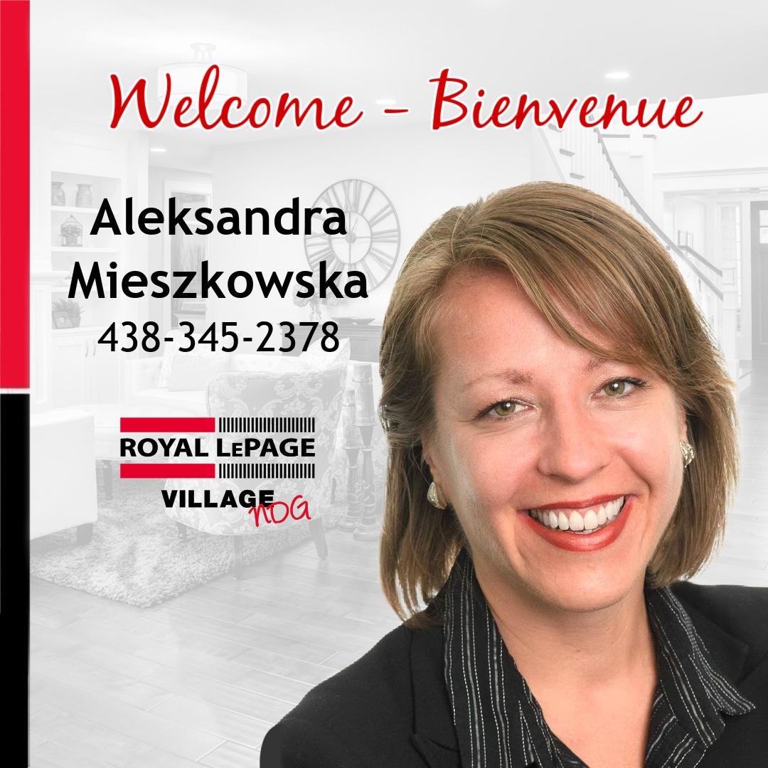 Welcome Aleksandra Mieszkowska