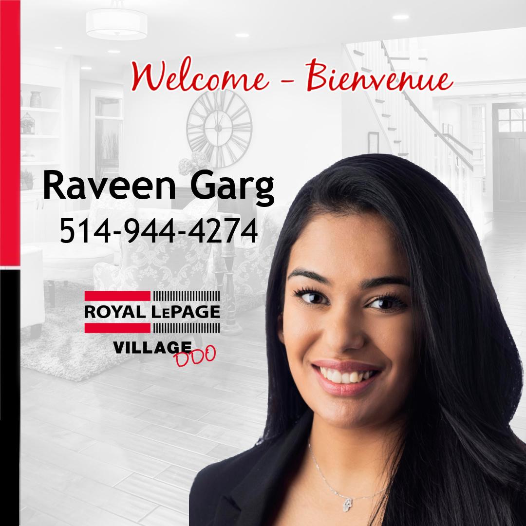 Welcome Raveen Garg