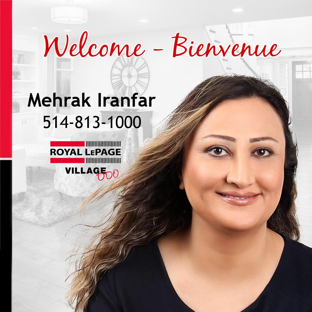 Welcome Mehrak Iranfar!