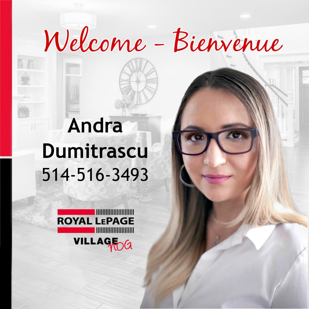 Welcome Andra Dumitrascu!